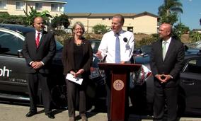 San Diego Mayor Kevin Faulconer speaks at a press conference last week.