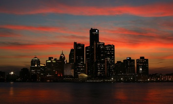 Detroit is the seat of Wayne County, Michigan.