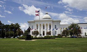 State Capitol in Montgomery, Alabama.