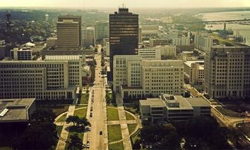 Downtown Baton Rouge, Louisiana