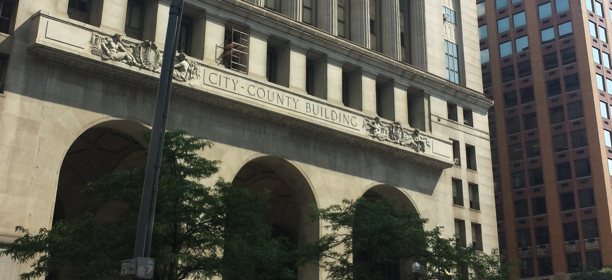 The City-County Building in Pittsburgh