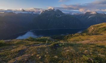 Blue Lake in Alaska.
