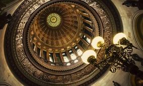 The Illinois State Capitol's Rotunda in Springfield.