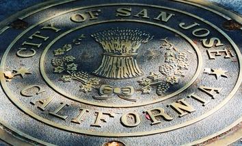 The city seal of San Jose, California