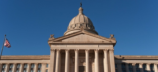 The Oklahoma State House. Oklahoma is one of the states considering imposing new sales taxes on a wide range of services.