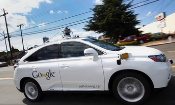 Google's self-driving Lexus