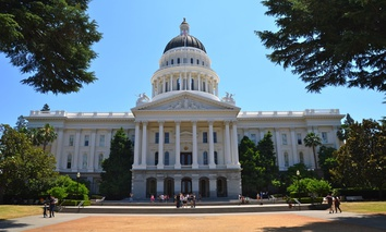 The California State Capitol. California's legislature is among those reconsidering statutes of limitations for rape and sexual assault cases.