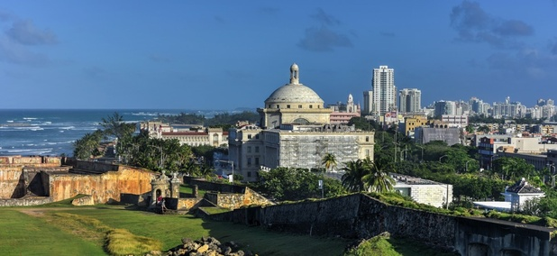 The Puerto Rico Capitol.