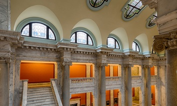 An interior look at the Kentucky State Capitol in Frankfort.