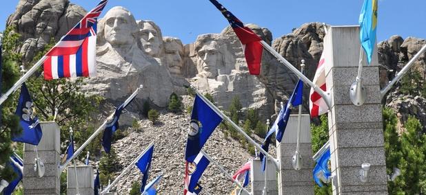 Mount Rushmore National Park in South Dakota.