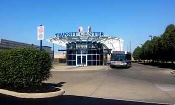 According to the Columbus' Smart City Challenge plan, the Easton Transit Center will host an autonomous vehicle pilot project.