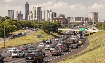 Traffic-clogged Austin, Texas