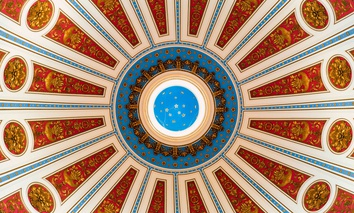 The Rotunda of the Pennsylvania State Capitol in Harrisburg.