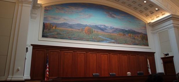 Supreme Court of California chamber