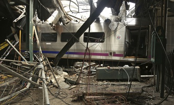 A New Jersey Transit commuter train crashed into the Hoboken Terminal on Thursday.