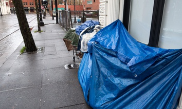 Portland, Oregon, is no stranger to the challenge of homelessness.