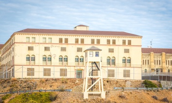 San Quentin penitentiary, home to California's death chamber.
