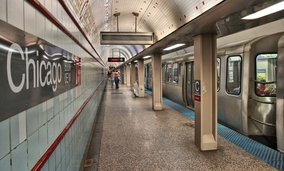 The Chicago Transit Authority is trying to secure federal funding to help rehabilitate stretches of the Red Line on Chicago's North Side.
