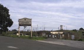 San Quentin Penitentiary, the oldest prison in California.