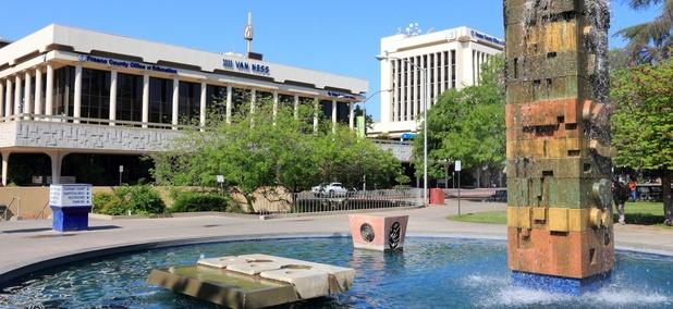 Downtown Fresno, California