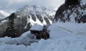 In winter, Stevens Pass and other mountain crossings in Washington state can make it difficult to travel to Olympia from areas east of the Cascades.