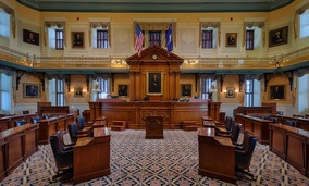 South Carolina Senate chambers.