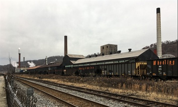 The ArcelorMittal plant in Monessen, Pennsylvania. (Photo by Bill Lucia / RouteFifty.com)