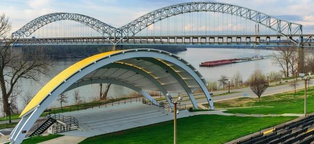 The Sherman Milton Bridge