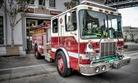 A fire truck in San Francisco.