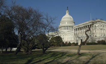 The United States Capitol Building.