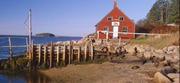 Near Southwest Harbor on Mount Desert Island, Maine