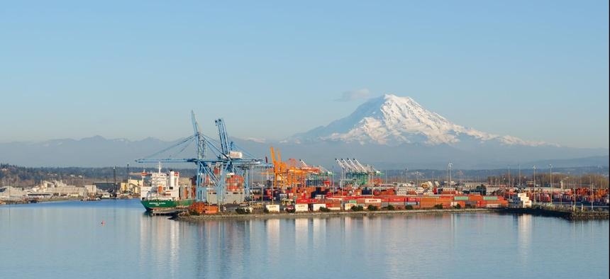 The Port of Tacoma, Washington