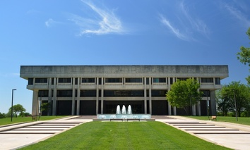 The Kansas Judicial Center building.