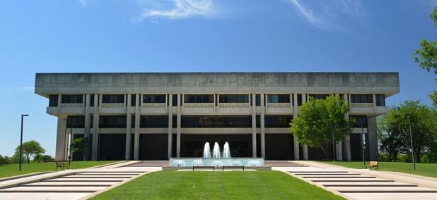 The Kansas Judicial Center building.