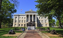 The North Carolina State House.