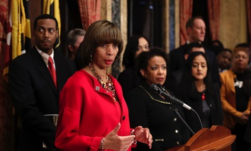 Baltimore Mayor Catherine Pugh