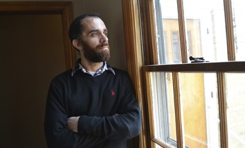 Sanibel House, a residential addiction center in Catlettsburg, Kentucky, is seeing many new patients like Tyler Witten, a former opioid addict, who are covered under Kentucky's Medicaid expansion.