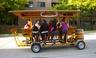 A Trolley Pub bike in Minneapolis.
