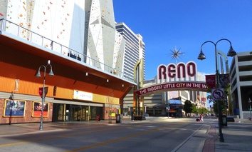 One of the proposed routes would stretch 454 miles from Reno to Las Vegas.