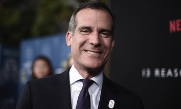 Los Angeles Mayor Eric Garcetti