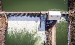 Boise River Diversion Dam in Idaho
