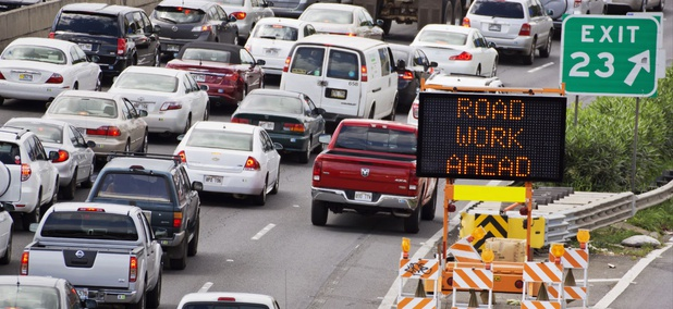 Highway congestion in Honolulu, Hawaii