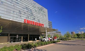 Parkland Memorial Hospital in Dallas, Texas