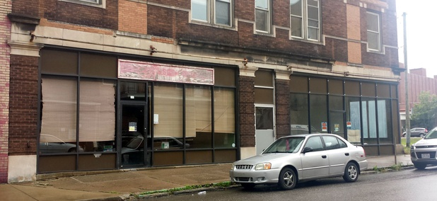 St. Clair Avenue in East Liverpool, Ohio