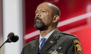 Milwaukee County Sheriff David Clarke