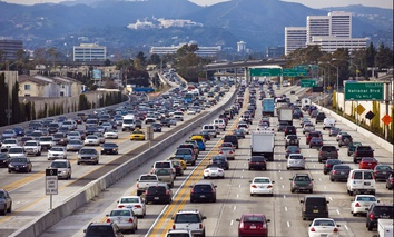 Interstate 405 in Los Angeles