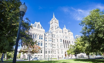 The Salt Lake City and County Building in Salt Lake City, Utah.