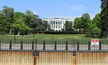 The White House South Lawn