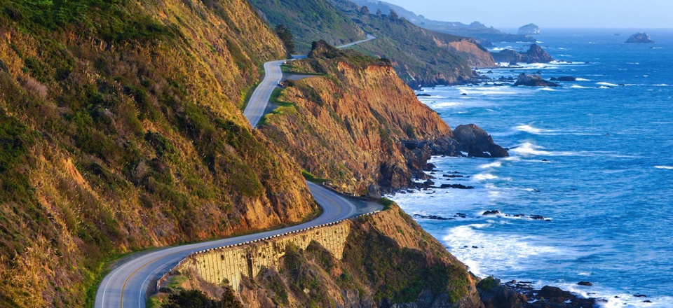The Pacific Coast Highway in Big Sur, California