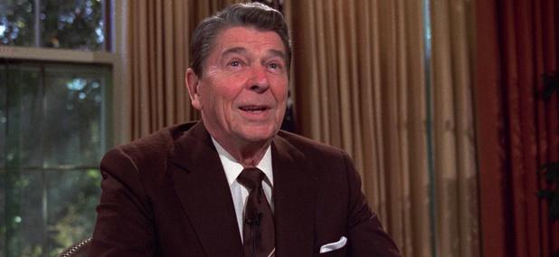 Former President Ronald Reagan